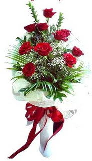 Nevşehir online çiçekçi , çiçek siparişi  10 adet kirmizi gül buketi demeti