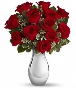 Nevşehir çiçek satışı   vazo içerisinde 11 adet kırmızı gül tanzimi