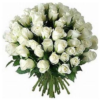 Nevşehir çiçek siparişi vermek  33 adet beyaz gül buketi