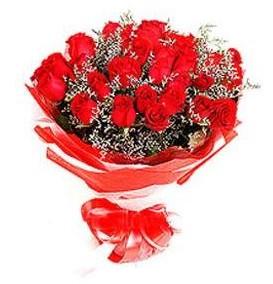 Nevşehir online çiçek gönderme sipariş  12 adet kırmızı güllerden görsel buket