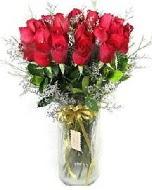 27 adet vazo içerisinde kırmızı gül  Nevşehir hediye sevgilime hediye çiçek