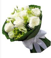 9 adet beyaz gül buketi  Nevşehir çiçek gönderme sitemiz güvenlidir