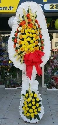 Çift katlı düğün nikah açılış çiçeği  Nevşehir cicekciler , cicek siparisi