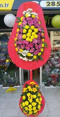 Çift katlı düğün nikah açılış çiçek modeli  Nevşehir çiçek , çiçekçi , çiçekçilik