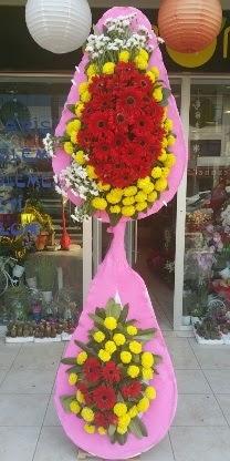 Çift katlı düğün nikah açılış çiçek modeli  Nevşehir çiçek gönderme