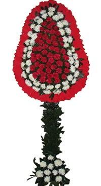 Çift katlı düğün nikah açılış çiçek modeli  Nevşehir İnternetten çiçek siparişi
