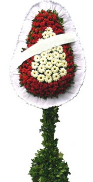 Çift katlı düğün nikah açılış çiçek modeli  Nevşehir hediye sevgilime hediye çiçek