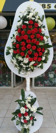 2 katlı nikah çiçeği düğün çiçeği  Nevşehir çiçek mağazası , çiçekçi adresleri
