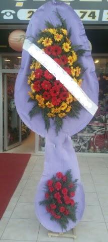 Çift katlı nikah düğüne çiçek modeli  Nevşehir çiçekçi telefonları