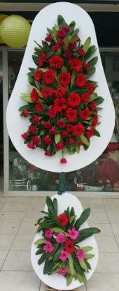 Çift katlı düğün nikah açılış çiçek modeli  Nevşehir çiçekçi telefonları