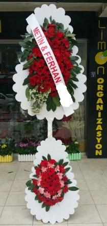 Çift katlı düğün nikah çiçeği modeli  Nevşehir çiçek gönderme sitemiz güvenlidir