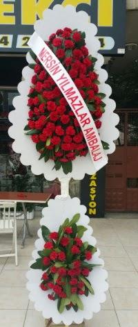 Çift katlı düğün nikah çiçeği modeli  Nevşehir çiçek yolla , çiçek gönder , çiçekçi