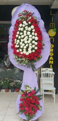 Çift katlı işyeri açılış çiçek modeli  Nevşehir online çiçekçi , çiçek siparişi