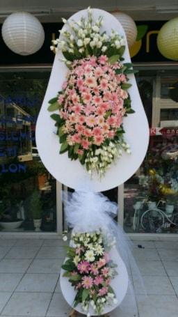 Çift katlı özel şahane sepet çiçeği  Nevşehir kaliteli taze ve ucuz çiçekler