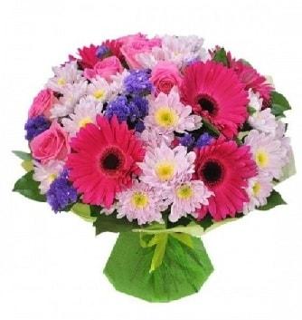 Karışık mevsim buketi mevsimsel buket  Nevşehir güvenli kaliteli hızlı çiçek