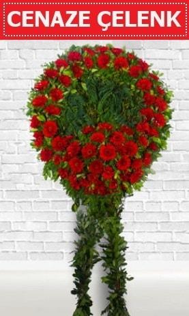 Kırmızı Çelenk Cenaze çiçeği  Nevşehir hediye sevgilime hediye çiçek
