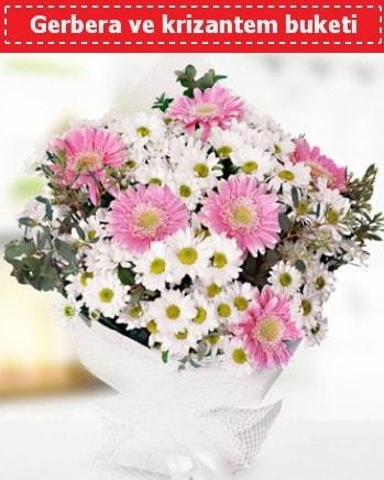 Papatya ve Gerbera Buketi  Nevşehir yurtiçi ve yurtdışı çiçek siparişi