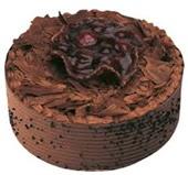 9 ile 12 Kişilik Çikolatalı yaş pasta